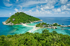 Nang Yuan Insel in Thailand Stockbild