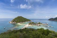 Nang Yuan Insel in Thailand Stockfotografie