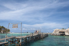 Nang Yuan Insel in Thailand Lizenzfreie Stockfotografie