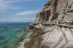 Nang Yuan Insel in Thailand Lizenzfreies Stockbild