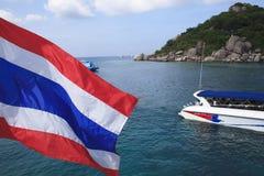 Nang Yuan Island bei Koh Tao, Thailand Stockfoto