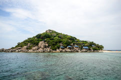 Nang Yuan Island con il mare blu Immagini Stock