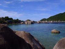 Nang Yuan Island at Koh Tao, Thailand Stock Photography
