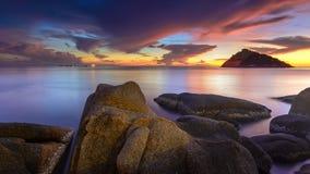 Nang-Yuan Island. Is located near Tao Island royalty free stock photo