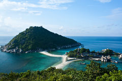 Nang Yuan island in Thailand Royalty Free Stock Photography