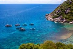 Nang Yuan island in Thailand Royalty Free Stock Image
