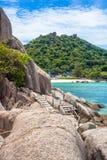 Nang Yuan island in Thailand Royalty Free Stock Photo
