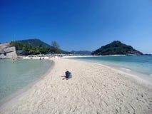 Nang Yuan Island, Thailand Arkivbilder