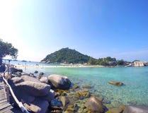 Nang Yuan Island, Thailand Fotografering för Bildbyråer