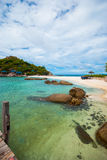 Nang yuan Island Thailand stock photo