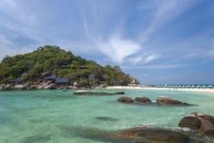 Nang Yuan island in Thailand Royalty Free Stock Images