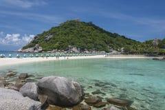 Nang Yuan island in Thailand Royalty Free Stock Photos