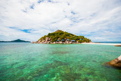 Nang yuan Island Thailand Royalty Free Stock Photos