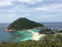 Nang Yuan. Photo taken in Koh Tao Royalty Free Stock Photos