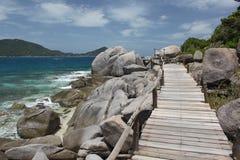 Nang-yuans eiland Stock Afbeelding