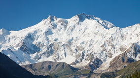 Nanga Parbat,喜马拉雅山,巴基斯坦 库存图片