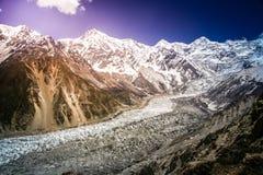 Nanga Parbat in full view stock photos