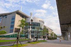Nangang Exhibition Center in taipei Royalty Free Stock Image