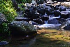 Nangka瀑布,茂物,西爪哇省 库存图片