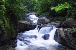 Nangrong瀑布 免版税库存图片