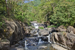 Nangrong Waterfal, Nakhon Nayok, Thailand Royalty Free Stock Photos