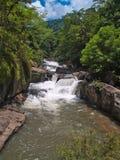 Nangrong waterfall Royalty Free Stock Photo