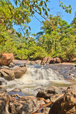 Nangrong waterfall Stock Photography