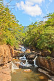 Nangrong waterfall Royalty Free Stock Photography