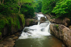 Nangrong Waterfall in Nakhon nayok, Thailand Stock Photos