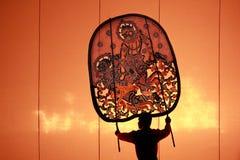 Nangyai在Wat Khanon执行了 库存照片