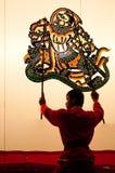 Nangyai που εκτελείται σε Wat Khanon Στοκ φωτογραφίες με δικαίωμα ελεύθερης χρήσης