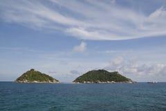 Nangyaun-Insel Stockbild