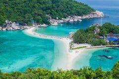 Nangyuan ö, Thailand Royaltyfri Bild