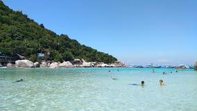 Nangyuan öhav som är härligt i Thailand Royaltyfria Bilder