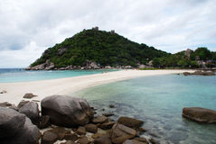 Nangyuan beach thailand Stock Photography