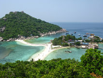 Nangyuan Island. The highest viewpoint of Nangyuan Island, Surathani, Thailand Stock Images