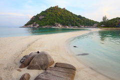 Nangyuan island beach in thailand Stock Photos