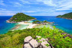 Nangyuan island,  Southern of Thailand Stock Photos