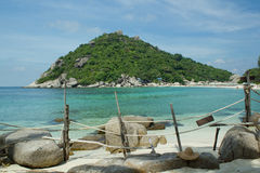 Nangyuan island(Thailand) Royalty Free Stock Photos