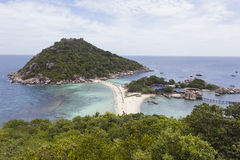 Nangyuan island in Thailand Stock Photos