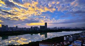 Nanhu-Park lizenzfreies stockbild