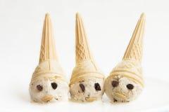 Nani del gelato Fotografia Stock