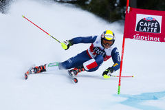 NANI Roberto in Audi Fis Alpine Skiing World-Kop Men's Reuzes Stock Afbeeldingen