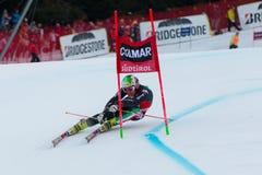 NANI Roberto (ITA). Alta Badia, ITALY 22 December 2013. NANI Roberto (ITA) competing in the Audi FIS Alpine Skiing World Cup MEN'S GIANT SLALOM Stock Images