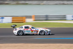 Nanin Indra-Payoong of Arnage Racing in GT300 Qualiflying Catego Royalty Free Stock Image