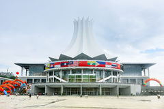 Naning ,Convention And Exhibition Center Royalty Free Stock Photos