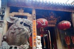 nanjing πέτρα αναγλύφου λιονταριών της Κίνας Στοκ Φωτογραφία