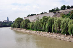 Nanjing ancient wall edge Royalty Free Stock Images