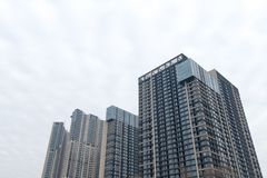 Residential building. Nanjing, China, a lot of new style of residential buildings Stock Image