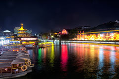 Nanjing china night view Stock Image
